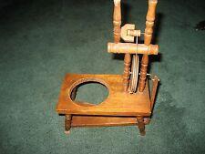 miniature antique sewing machine planter very rare
