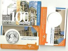 NEDERLAND    100 jaar Muntgebouw Vijfje  5 Euro 2011  in coincard    OPVOORRAAD