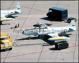 Lockheed T-33 Shooting Stars 49th FIS Griffiss AFB 1984 8x10 Aircraft Photos
