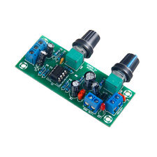 Preamplifier Board NE5532 DC 12V-24V Subwoofer Low Pass Filter Plate Module DA