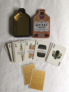 Whisky Lovers Playing Cards - Cards Complete & Perfect
