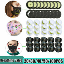 Cycling Mask Breathing Valve Sport Masks Respirator Filter Replacement Parts LOT