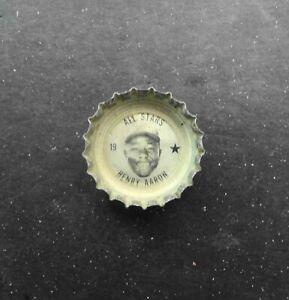 1967 FRESCA Coke HANK AARON Atlanta Braves All-Stars Bottle Cap #19