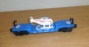 LIONEL THOMAS THE TANK #26302 HAROLD the HELICOPTER DEPRESSED FLATCAR O GAUGE