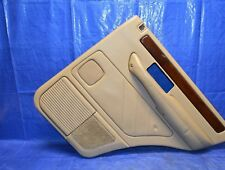 95-02 Range Rover P38 Door Panel Rear Right Passenger Walnut Leather 1995-2002
