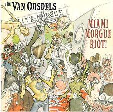 VAN ORSDELS - MIAMI MORGUE RIOT! CD US PSYCHOBILLY PHANTOM QUAKES SPASTIKS