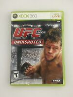 UFC 2009 Undisputed - Xbox 360 Game - Tested