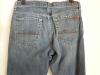 Seven 7 for all mankind relaxed  Denim Blue Jeans SZ 31