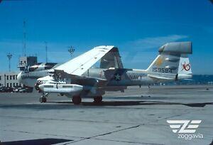 Original slide 159584 EA-6B U.S. Navy, USS Constellation, 1977