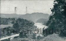 DUNKELD RIver Tay Postcard PERTHSHIRE D. & S. K