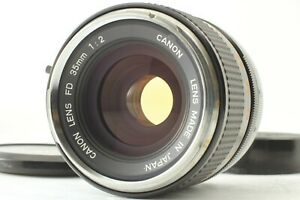 【Exc+5】 Canon FD 35mm F2 Wide Angele Prime MF Lens From JAPAN