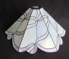 6 Panel Iridescent/Opalescent Leaded Glass Lamp Shade (Art Nouveau)        SH312