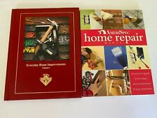 Lot of 2 Home Improvement Books Everyday Home Improvement and Home Repair Manual