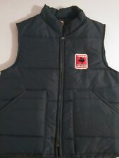 Vintage Crow Hybrids Puffy Vest Size M Patch Made in the USA Chalk Line