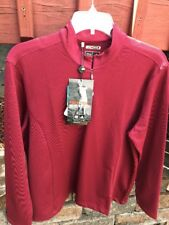 NWT Women's Adidas Climawarm Athletic Long Sleeve Pullover Shirt Top Size L
