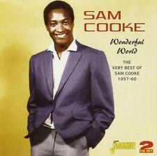 SAM COOKE - WONDERFUL WORLD 2 CD NEUF