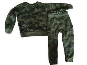 Boys Next camouflage tracksuit 3-4