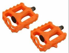 "M.T.B Pedals 861 9/16"" ORANGE bmx bicycle pedal.road bicycle pedal PLASTIC 9/16"