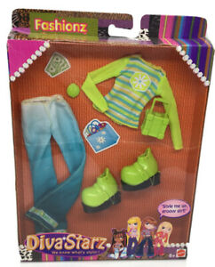 Diva Starz Fashionz Groovy Girl Clothes Accessories 2002 Mattel 56735