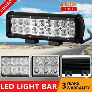 9 inch CREE LED Work Light Bar Spot Flood 4x4WD Ute Work Driving Bars 12V 24V