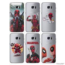Deadpool Funda / para Samsung Galaxy S6/ S7/ Edge/S8 /S9 / Plus/Silicona Gel TPU