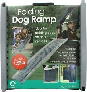 Rosewood Folding Lightweight Plastic Car Dog Ramp - RTS