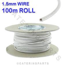 100m rouleau / Bobine de 1,5 mm Blanc SIAF résistant à la chaleur haute température fils câble
