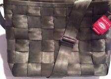 Harveys Seatbelt Bag Large Messenger Tote In Army Green