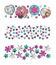 34g of Disney Frozen (Anna & Elsa) blue / purple / white Confetti