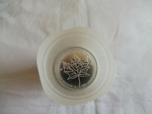 "10 x 1 Oz "" Maple Leaf "" 999,9 Feinsilber in der Original Tube 2011"