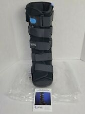 United Ortho Air Walker Fracture Boot, Large, Tall, Black