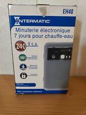 Electrnic & Mech Water Heater Timer,DPST EH40