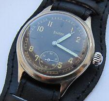 SILVANA  Wristwatch German Army Wehrmacht   of period WWII . Military.