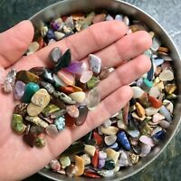 3lb Tiny Mixed Tumbled Stones - Polished Rocks - Art, Beading, & Craft Supplies