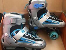 Mongoose Blue Showtime Roller Skates Adjustable Size 1 - 4