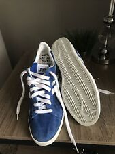 Rare Vintage 70s 80s Thom McCan Jox Shoes Sneakers 10 Blue Leather-Suede