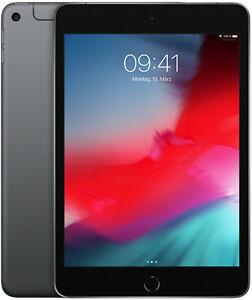 "Apple iPad Mini WLAN + 4G 5. Generation 64GB 7,9"" Tablet ohne Simlock space grau"