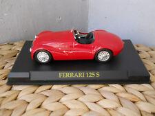1:43 FERRARI125 S Barchetta 1947 Monoposto Rossa Circuito di Parma 1947