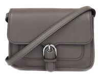 Michael Kors Women's Cinder Grey Cooper Small Leather Crossbody Purse Bag Ret $