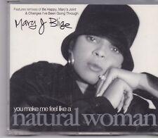 Mary J Blige-Natural Woman cd maxi single