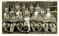 WWI ERA GROUP OF BRITISH SOLDIERS AND NURSES & ORIGINAL VINTAGE PHOTO POSTCARD