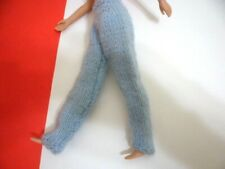 "Clone 12"" homemade knit blue Pants doll clothes 1970'S Tammy Cher Jem Size"