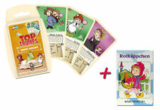 Card Games 2er Set Top Trumps Grimm's Fairytale + Red Cap Märchenspiel