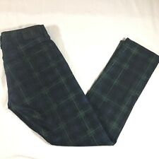 Polo Ralph Lauren Mens 32x32 (Tag33x32) Dungarees Green Plaid Jeans