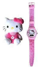 Hello Kitty pink Digital Uhr und Hello Kitty Spielzeug