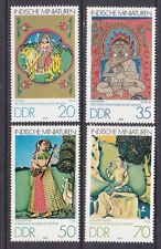 Germany DDR 2005-08 MNH 1979 Indian Miniatures in Berlin Museums Full Set VF