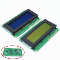For Arduino 20x4 Blue LCD Display Module IIC I2C TWI Serial 2004 w/ 4 Pin Wire