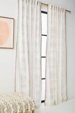 "NEW ANTHROPOLOGIE SHAYLA CURTAIN WINDOW PANEL 50"" X 84"""
