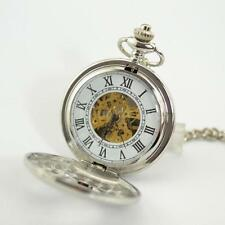 Silver Plated Mechanical (Hand-winding) Pocket Watches