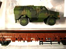Märklin H0 46952 4MFOR DINGO TARNUNG + Rungenwagen DB Ep.5 NEU zu Roco Minitanks